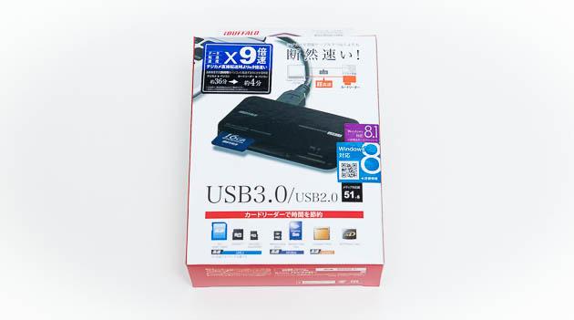 一眼ユーザーはUSB3.0対応カードリーダーを使うべきな件 [BSCR09U3]