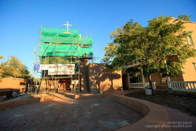アメリカ横断ドライブ サンタフェ サンミゲル教会