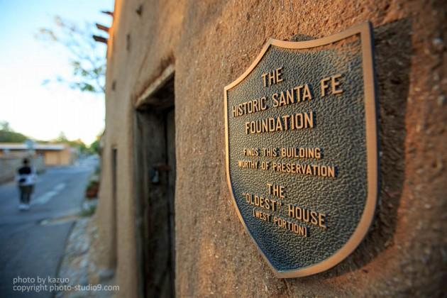 アメリカ横断ドライブ サンタフェ アメリカ最古の家