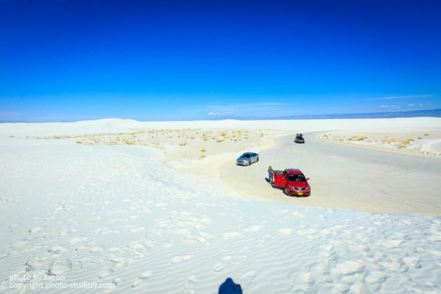 アメリカ横断ドライブ ホワイトサンズ