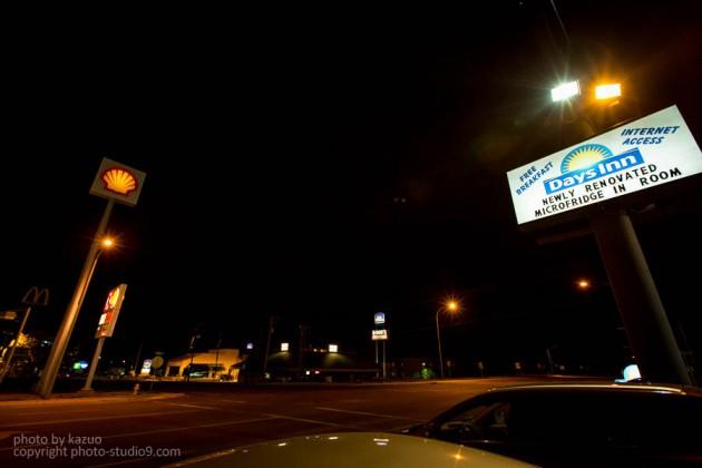 アメリカ横断ドライブ DaysInn