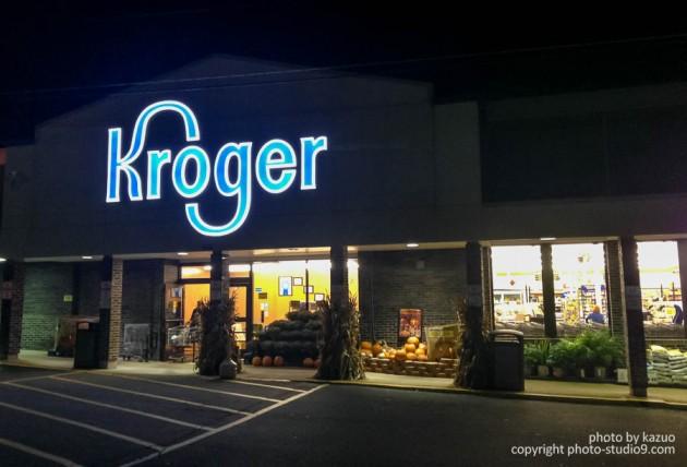 アメリカ横断ドライブ Kroger