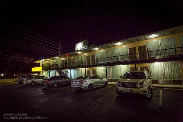 アメリカ横断ドライブ モーテル Days Inn