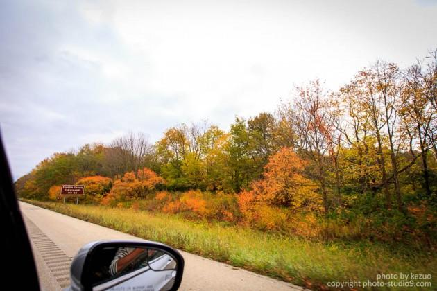 アメリカ横断ドライブ 紅葉