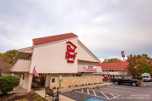 アメリカ横断ドライブ モーテル red roof