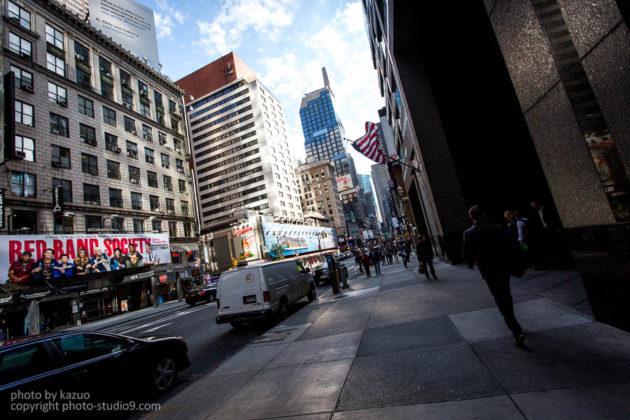 アメリカ横断ドライブ ニューヨーク